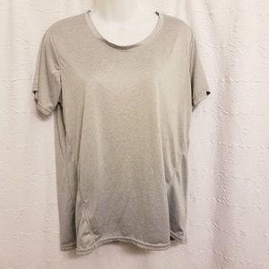 Reebok Womens Training Shirt Dry Fit SZ L